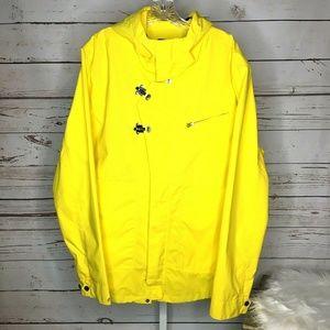 Nautica hooded Zip front jacket size XL